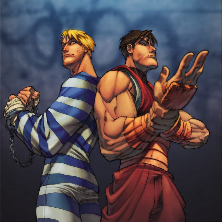 UFS Street Fighter card game artwork from a variety of artists #8