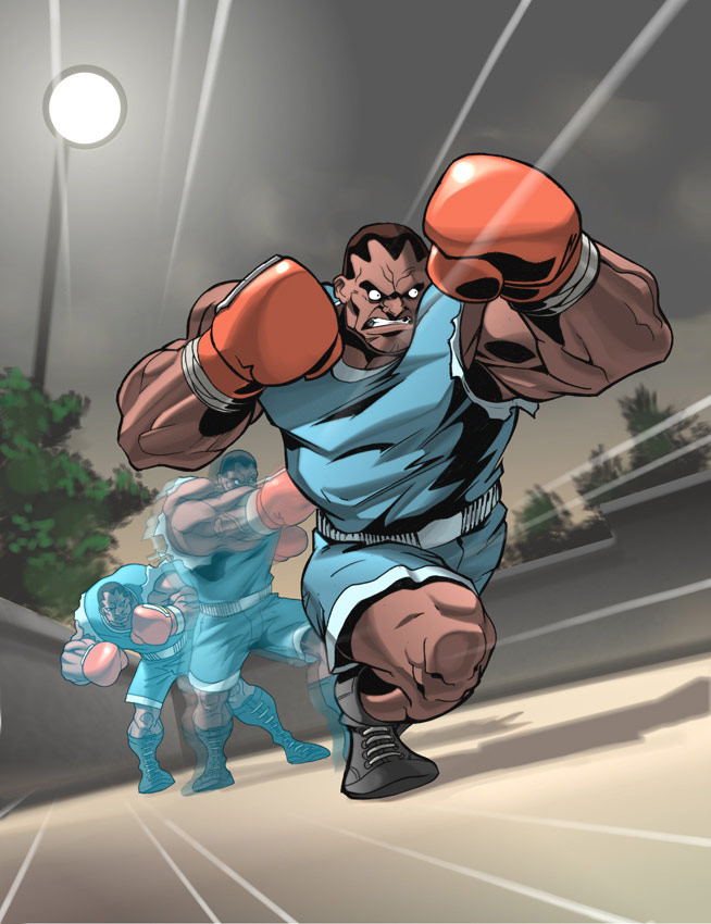 UFS Street Fighter card game artwork from a variety of artists #9