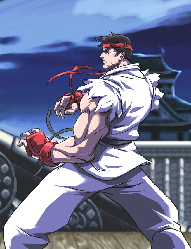 UFS Street Fighter card game artwork from a variety of artists #11