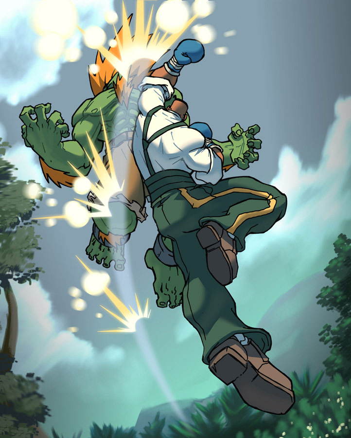 UFS Street Fighter card game artwork from a variety of artists #19