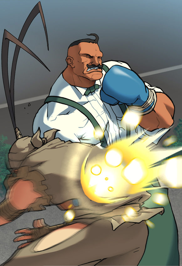 UFS Street Fighter card game artwork from a variety of artists #22