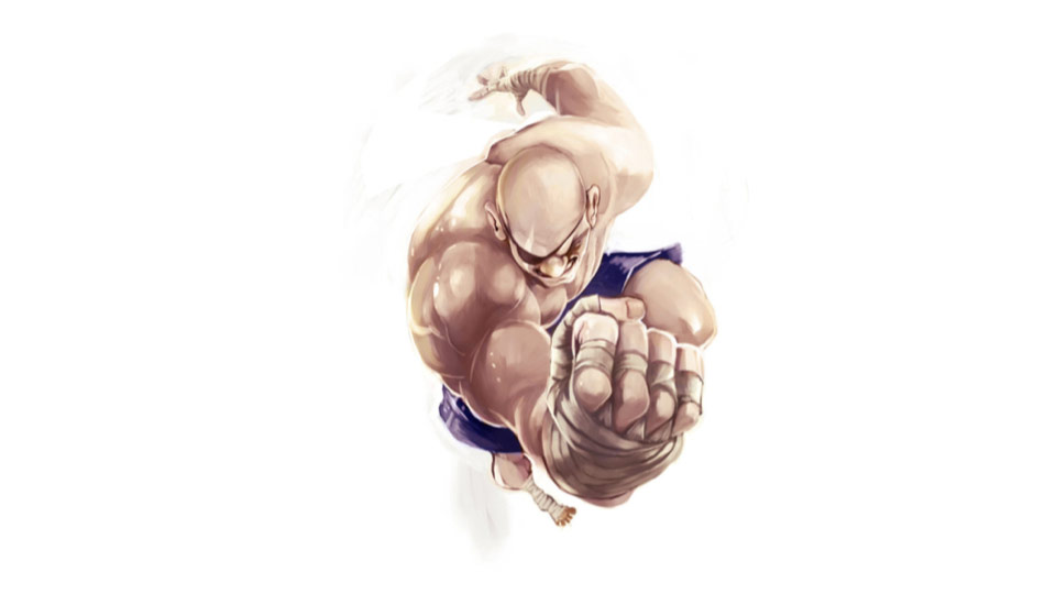 Street Fighter forced perspective artwork #2