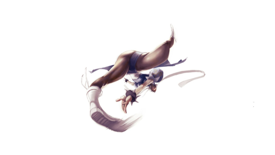 Street Fighter forced perspective artwork #8