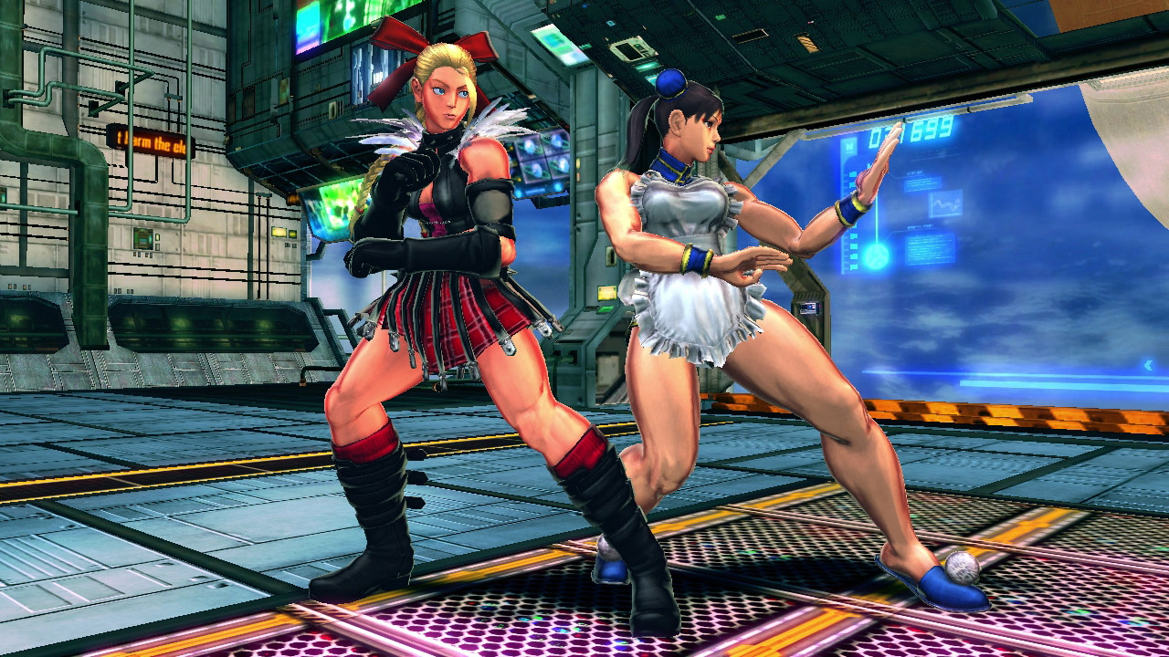 Street Fighter X Tekken costumes for the PlayStation Vita #1 Costumes