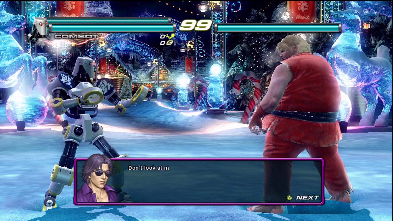 Ken, Ryu and Akuma cameo appearances in Tekken Tag Tournament 2 #01