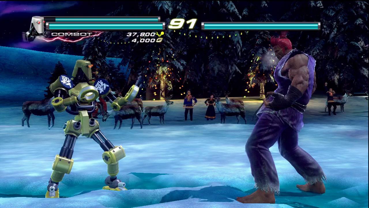 Ken, Ryu and Akuma cameo appearances in Tekken Tag Tournament 2 #05