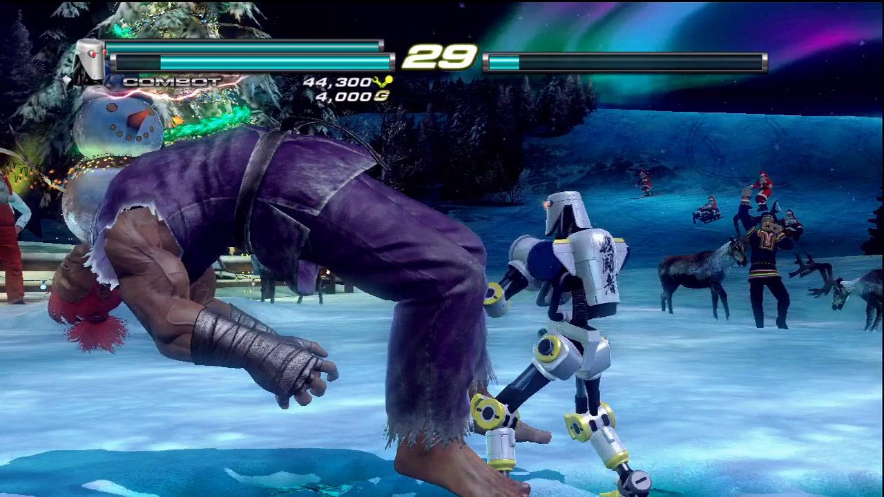 Ken, Ryu and Akuma cameo appearances in Tekken Tag Tournament 2 #06
