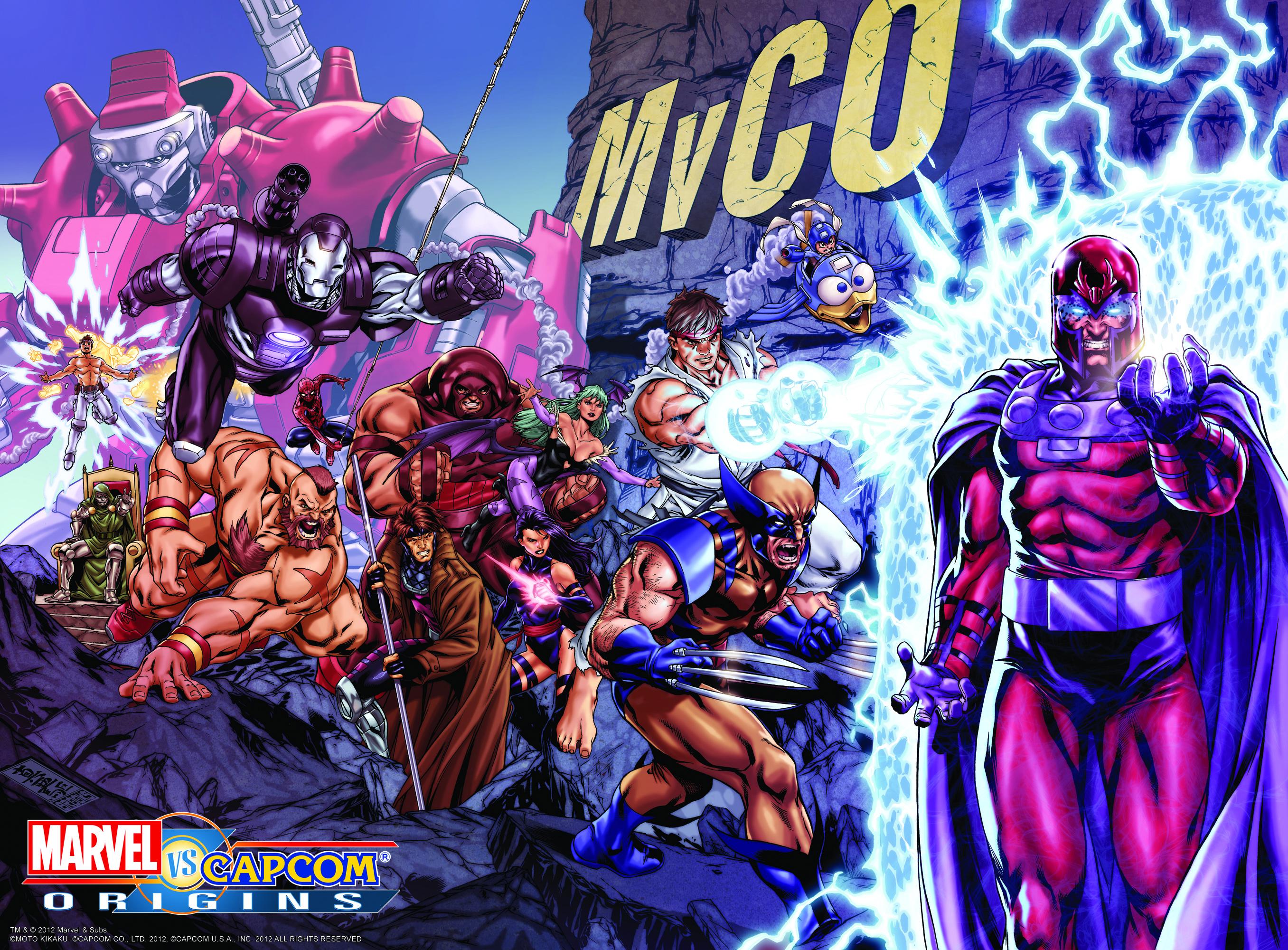 Marvel vs. Capcom Origins artwork from Marc Brooks #01