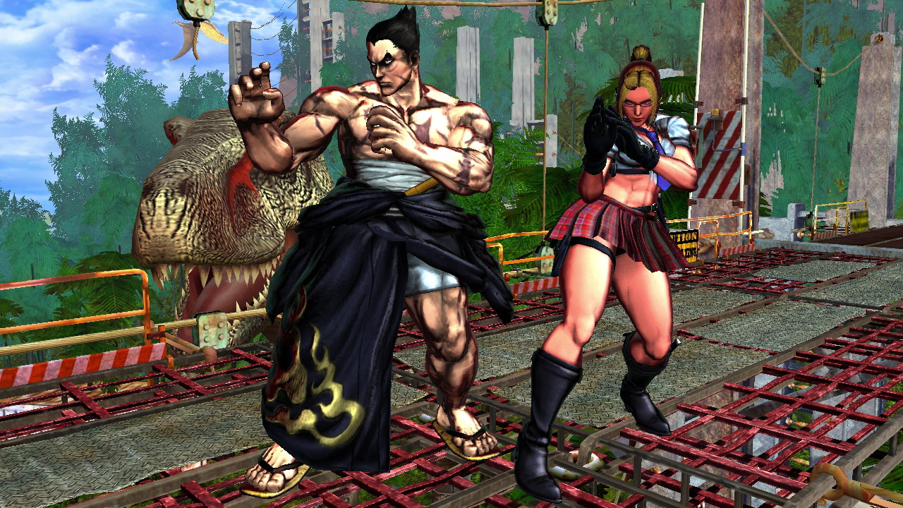 Tekken cast member PS Vita costumes for Street Fighter X Tekken #1