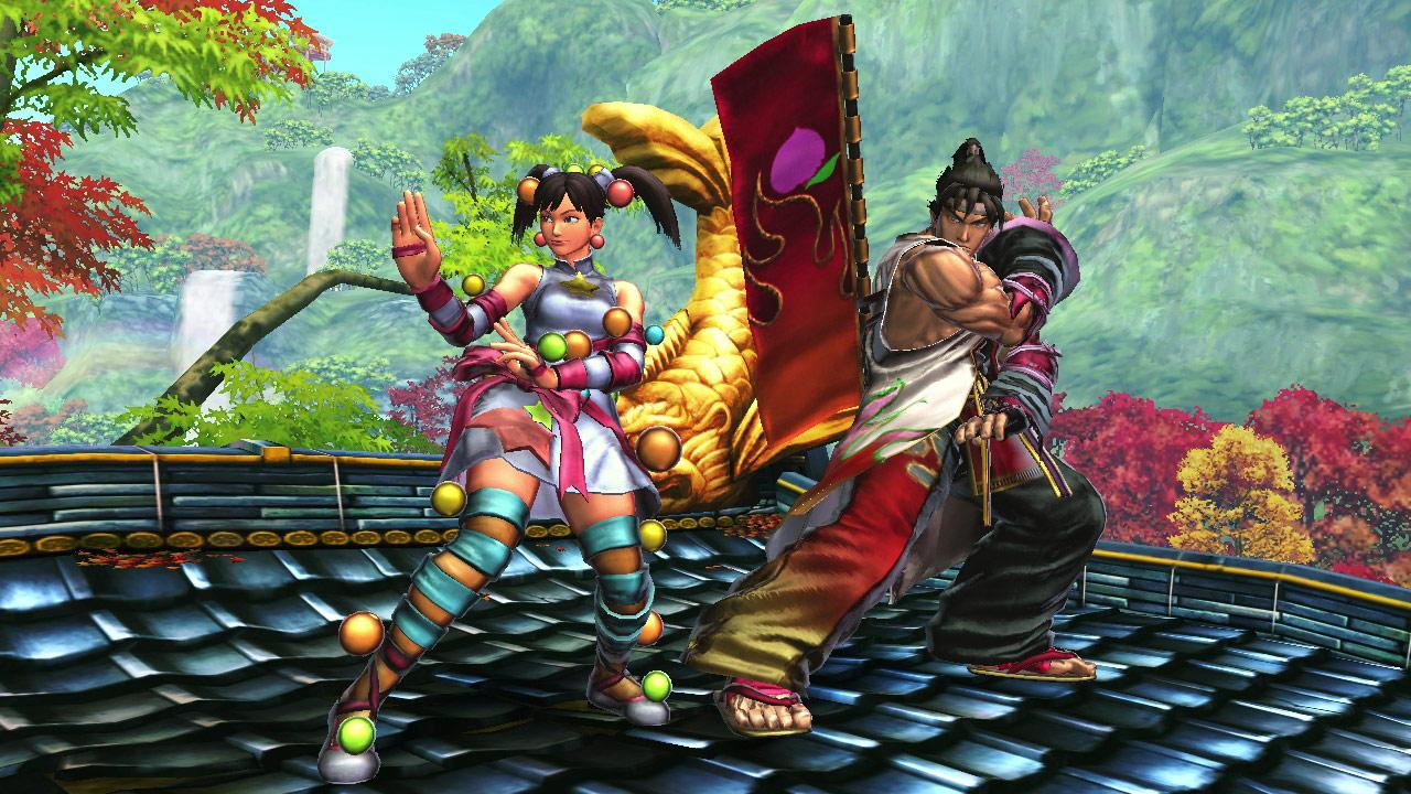 Tekken cast member PS Vita costumes for Street Fighter X Tekken #2
