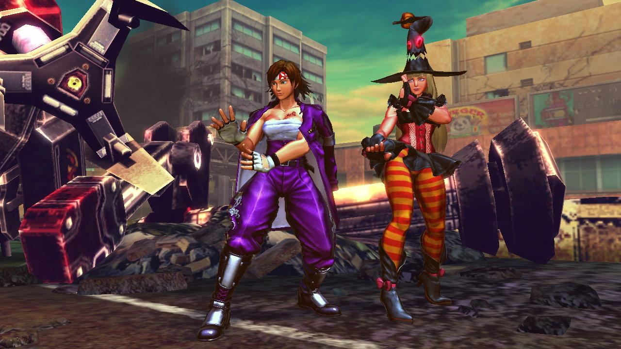 Tekken cast member PS Vita costumes for Street Fighter X Tekken #3