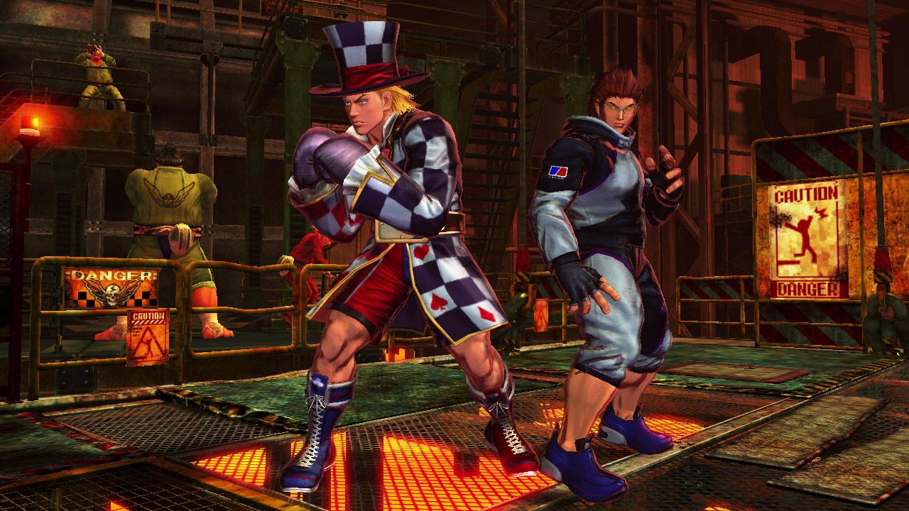 Tekken cast member PS Vita costumes for Street Fighter X Tekken #4
