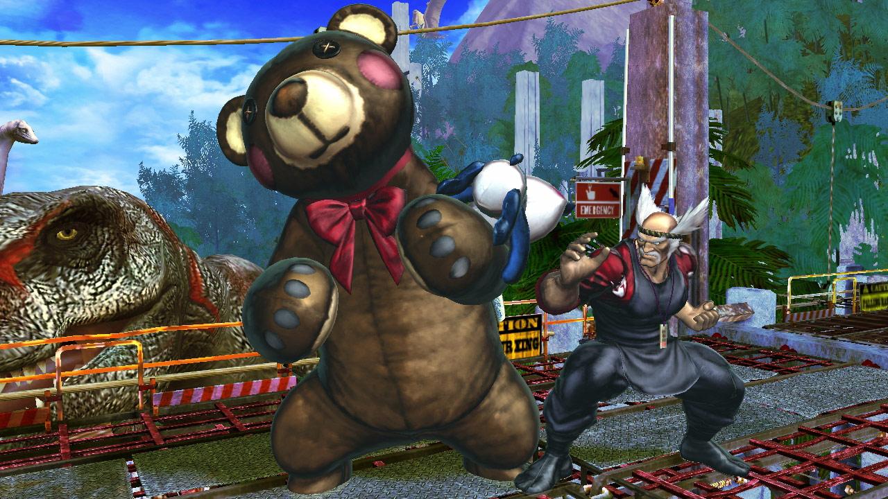 Tekken cast member PS Vita costumes for Street Fighter X Tekken #5