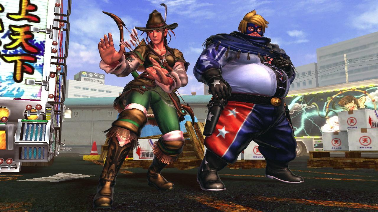 Tekken cast member PS Vita costumes for Street Fighter X Tekken #6