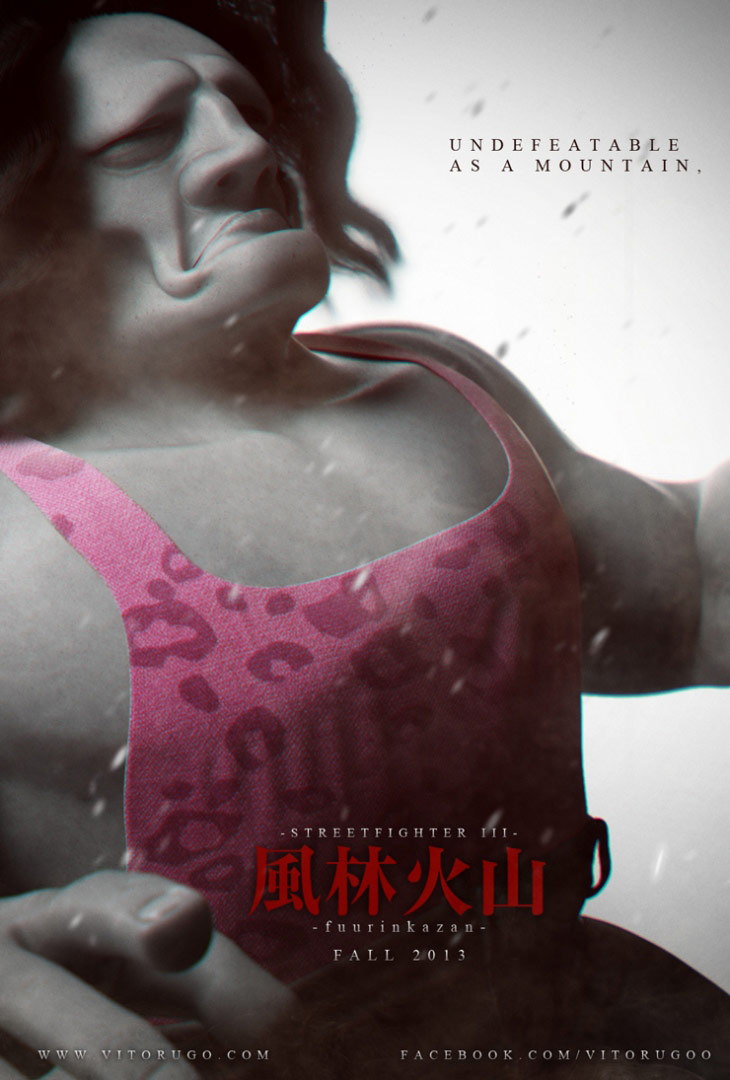 Street Fighter fan-made short movie poster and We Are Tekken submission #3