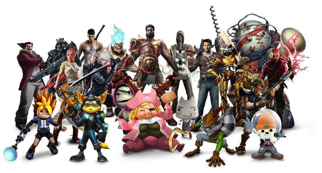 Playstation All Stars Battle Royale Wallpaper 1