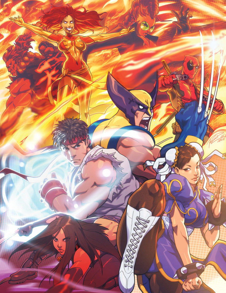 Udon fighting game related artwork image #2