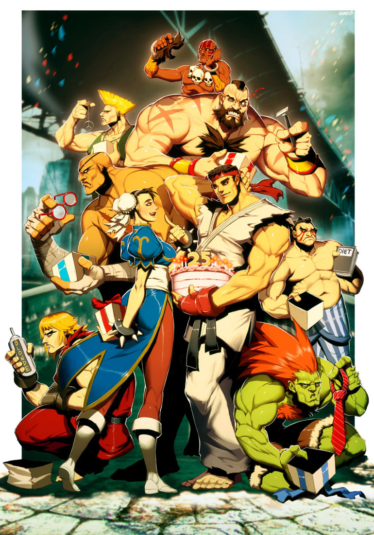 Udon fighting game related artwork image #4