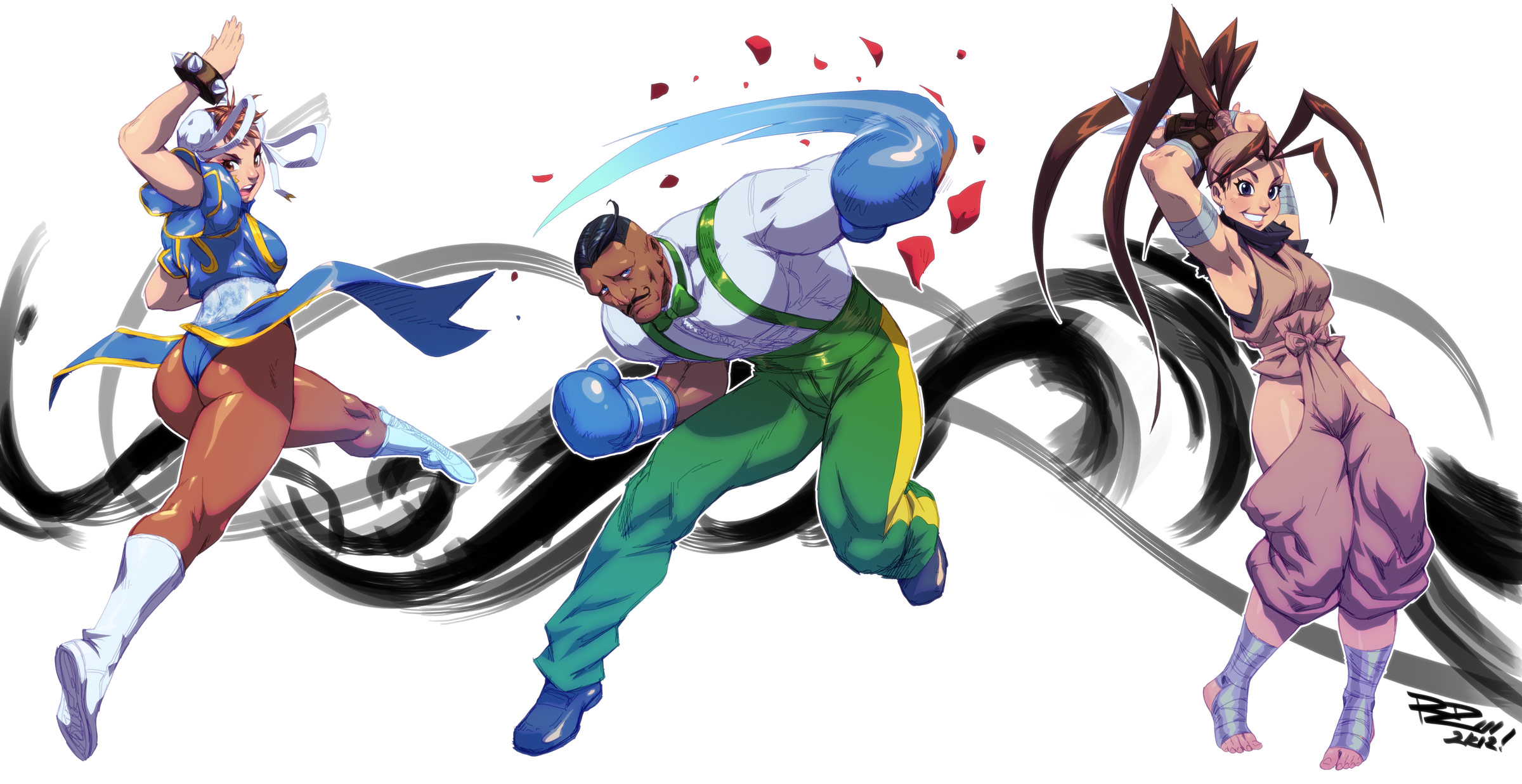 Udon fighting game related artwork image #5