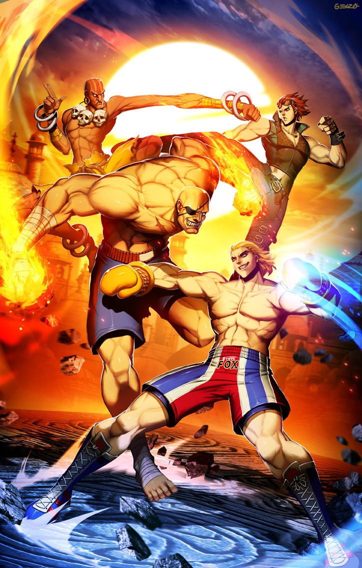 Udon fighting game related artwork image #6