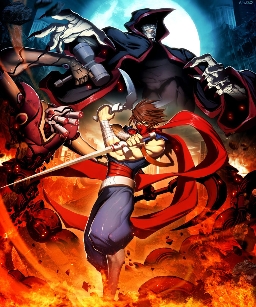 Udon fighting game related artwork image #13