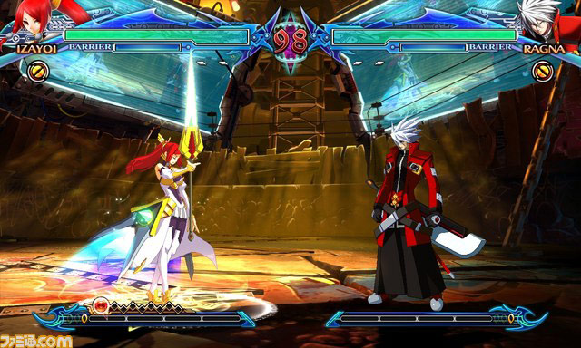 Blazblue: Chrono Phantasma new character Izayoi image #2