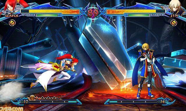 Blazblue: Chrono Phantasma new character Izayoi image #3