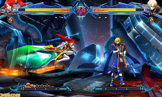Blazblue: Chrono Phantasma new character Izayoi image #4