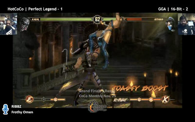 All Mortal Kombat 9 Toasty Boost inputs found for entire