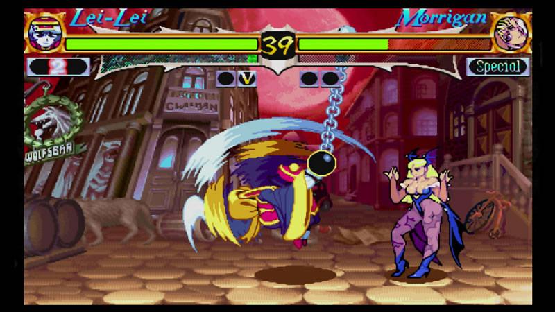 Darkstalkers Resurrection screen shots for Hsien-Ko, B.B. Hood, Q. Bee, Donovan and Anakaris #4