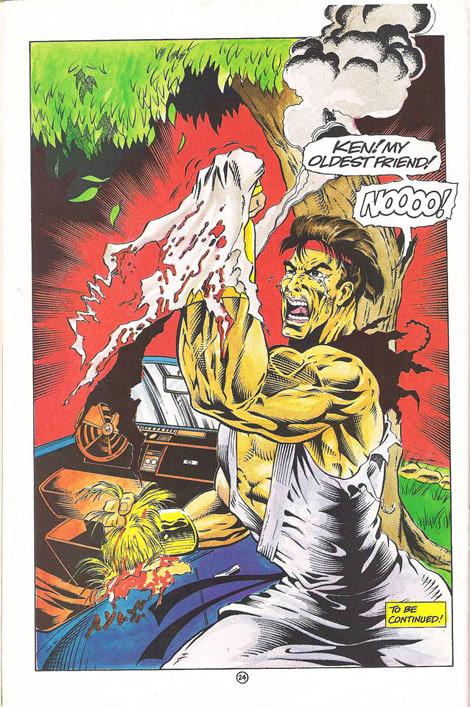 Malibu Street Fighter Comic Book Was Hilariously Bad Image 10