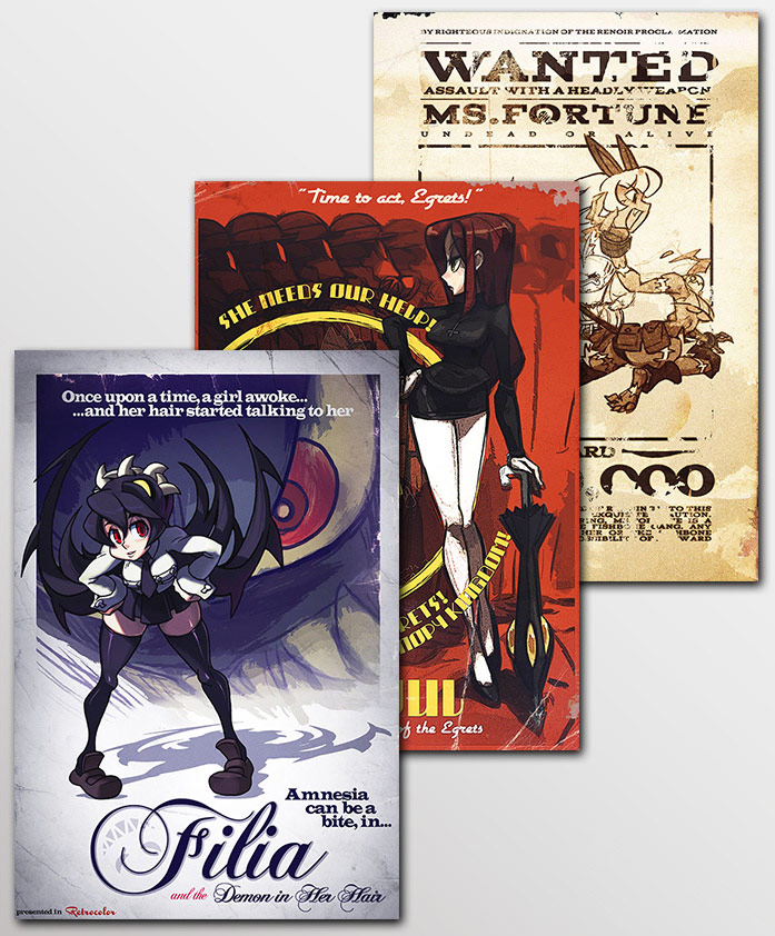 Skullgirls movie #01