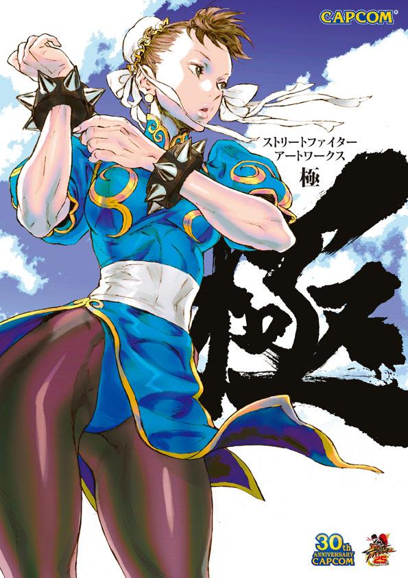 Japanese Street Fighter 25th Anniversary art book sample #1