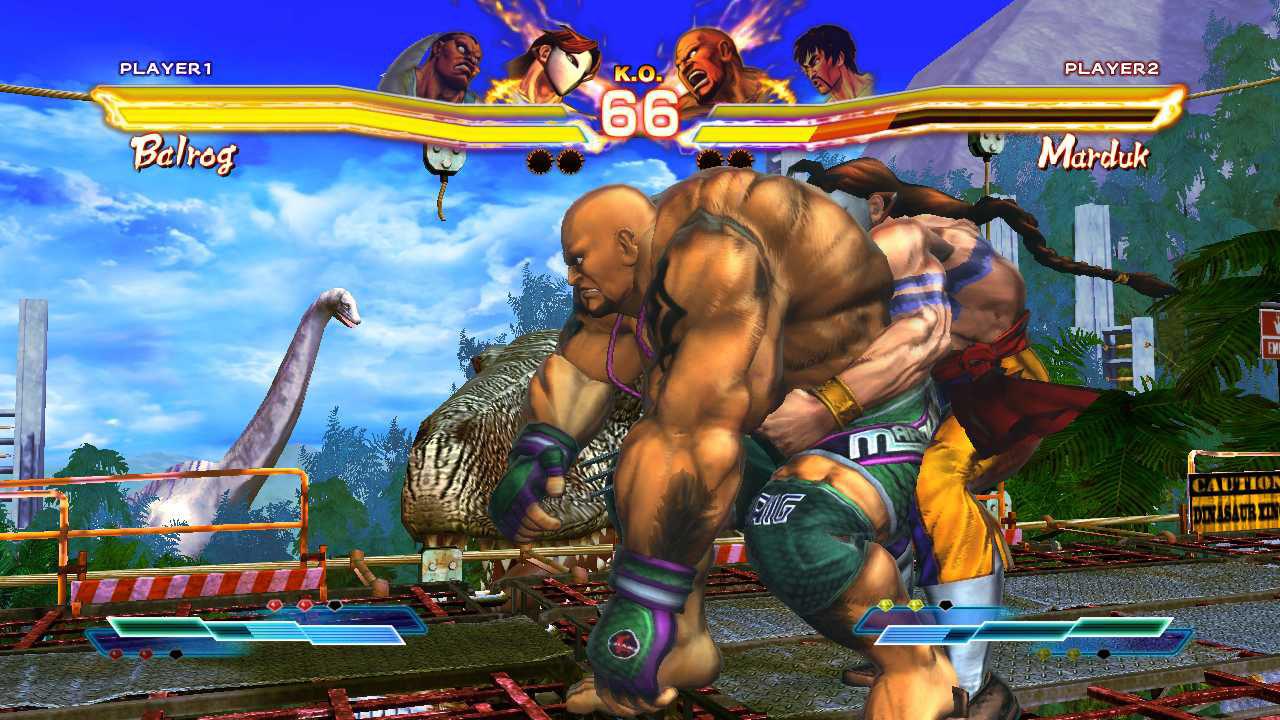 Throws in Street Fighter X Tekken v2013 remove recoverable health #1