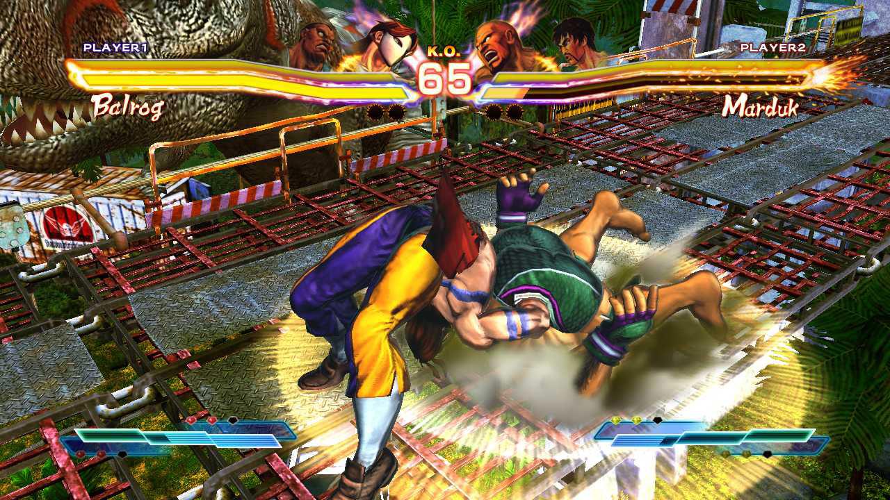 Throws in Street Fighter X Tekken v2013 remove recoverable health #2