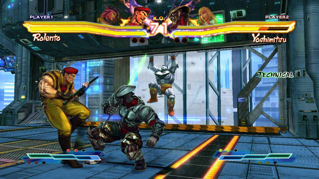 Forward rolls received several nerfs in Street Fighter X Tekken v2013
