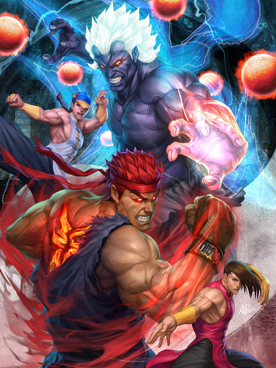 Fighting game artwork gallery for Stan 'Artgerm' Lau #1