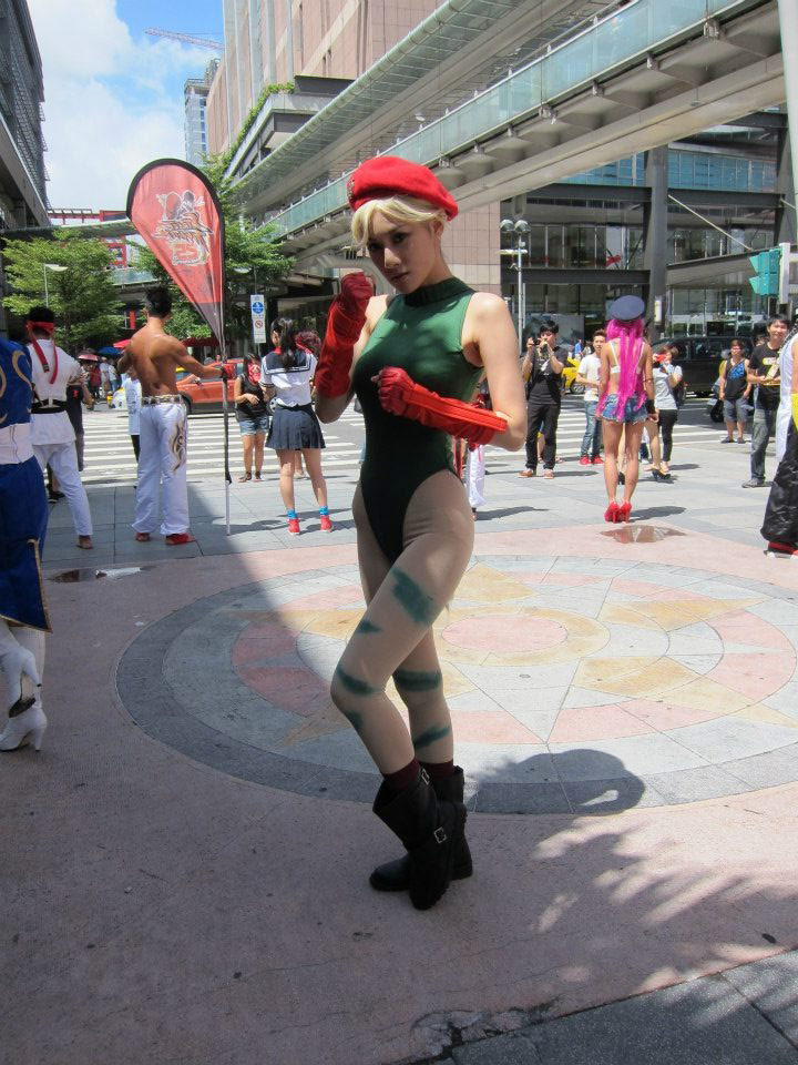 Cosplay from the Street Fighter 25th anniversary Taiwan tournament #01