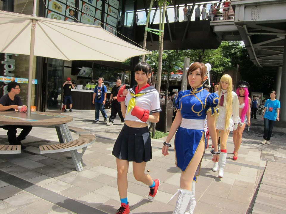 Cosplay from the Street Fighter 25th anniversary Taiwan tournament #02