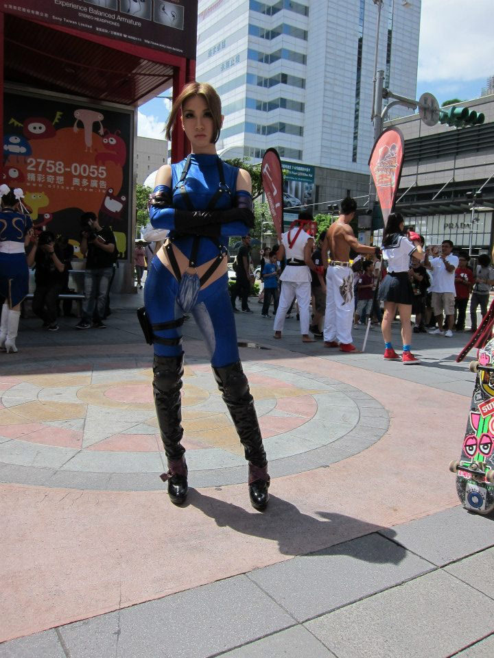 Cosplay from the Street Fighter 25th anniversary Taiwan tournament #03