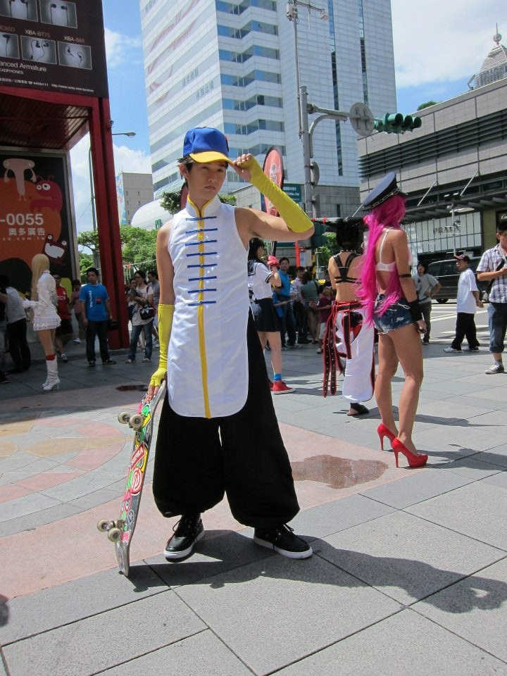 Cosplay from the Street Fighter 25th anniversary Taiwan tournament #04