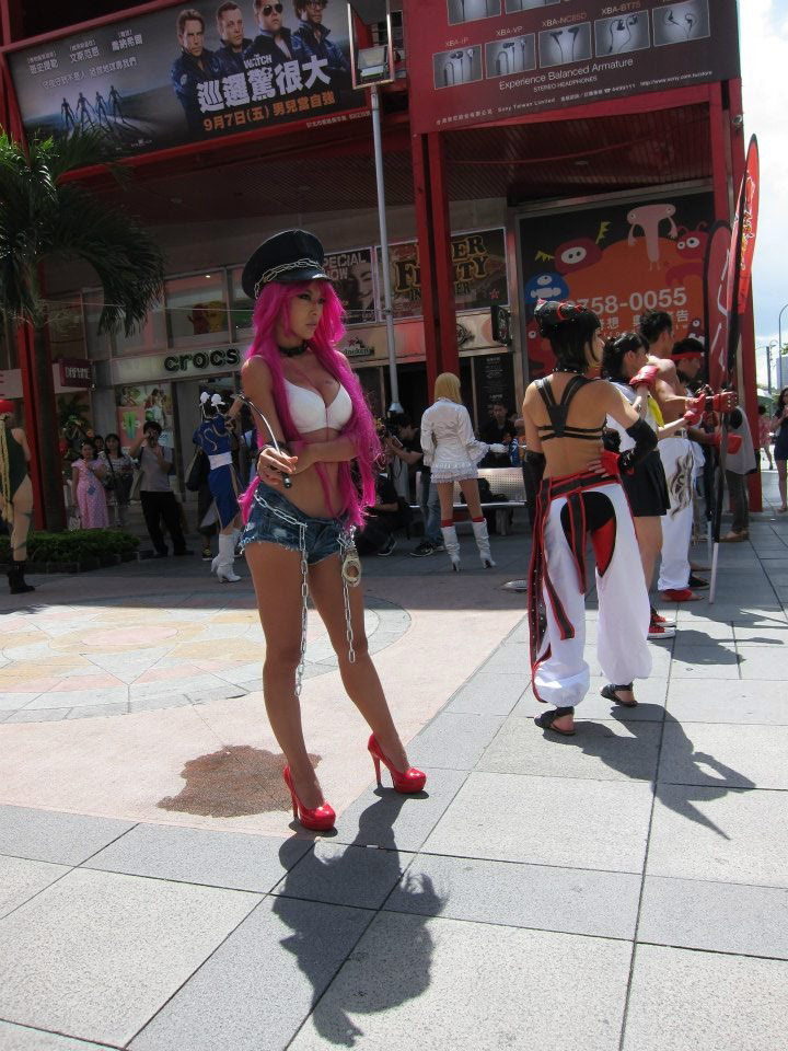 Cosplay from the Street Fighter 25th anniversary Taiwan tournament #05