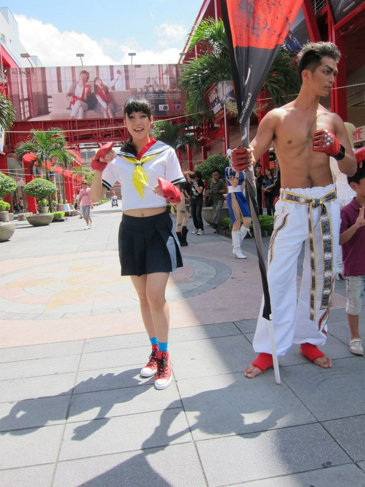 Cosplay from the Street Fighter 25th anniversary Taiwan tournament #07