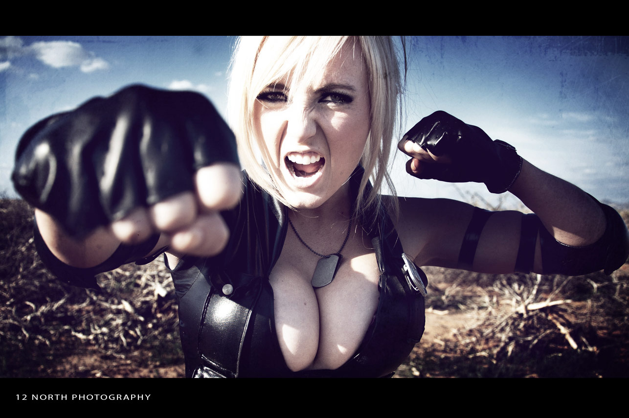 Grindhouse styled Mortal Kombat cosplay images from 12 North Photography #1