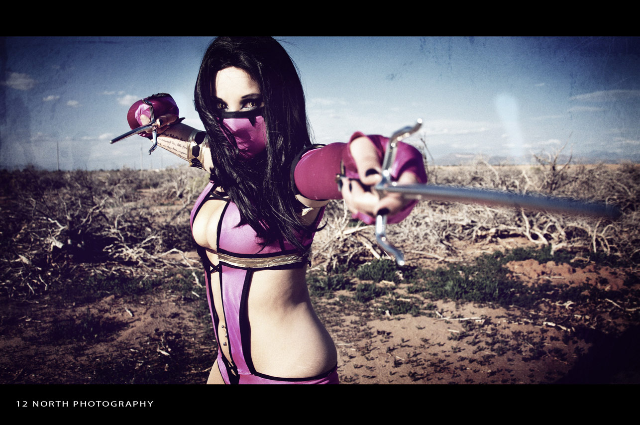 Grindhouse styled Mortal Kombat cosplay images from 12 North Photography #4