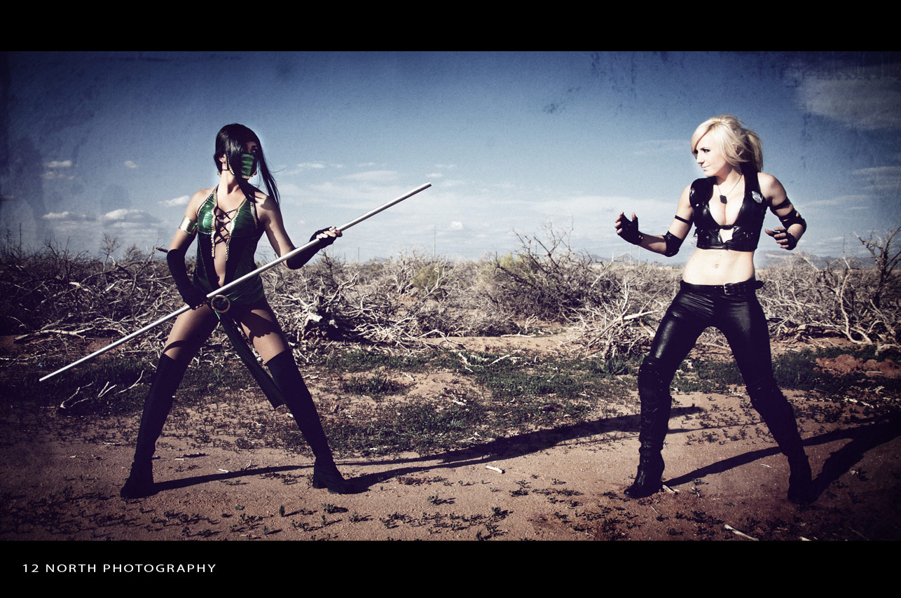 Grindhouse styled Mortal Kombat cosplay images from 12 North Photography #7
