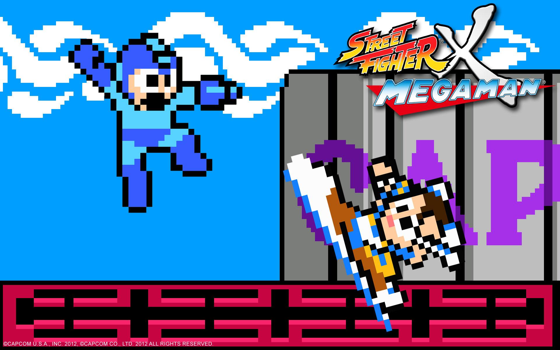 Street Fighter X Mega Man wallpaper #2