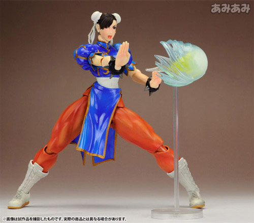 Chun-Li Street Fighter 4 Play Arts Kai action figure image #5