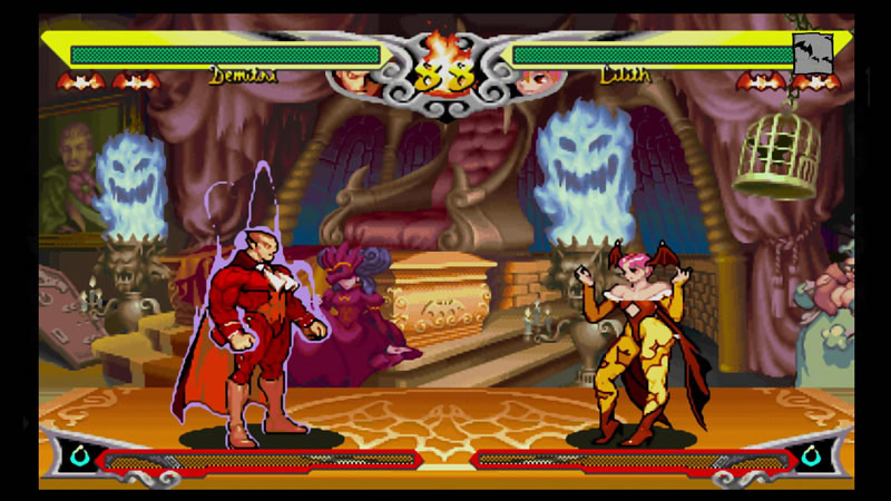 Darkstalkers Resurrection graphic filter options #5