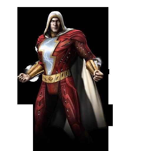 Shazam spotted on the Injustice: Gods Among Us website #01